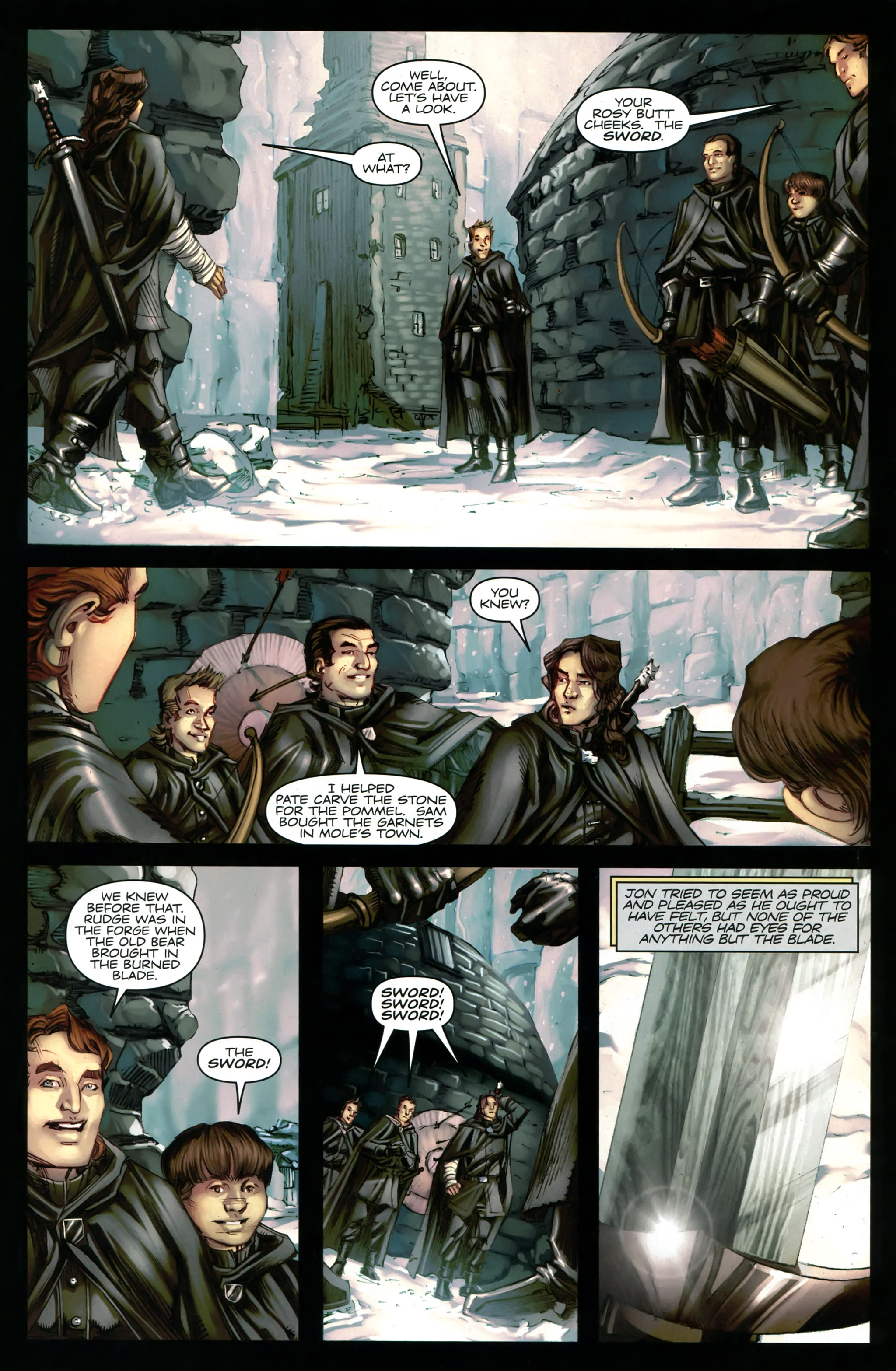 Read online A Game Of Thrones comic -  Issue #20 - 25