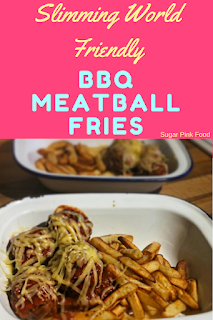 Slimming world bbq meatball fries recipe