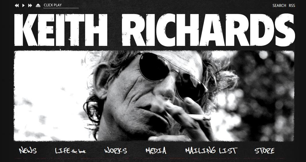 De Bibliotheek Keith Richards Life