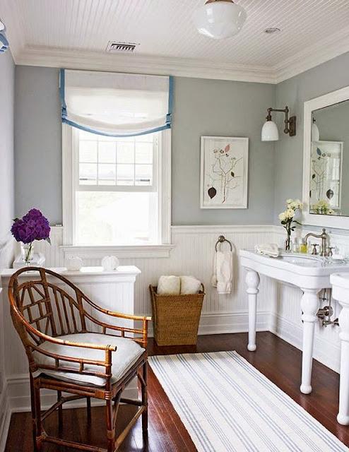Uma reforma no banheiro romântico e muitas inspiração. Blog Achados de Decoração