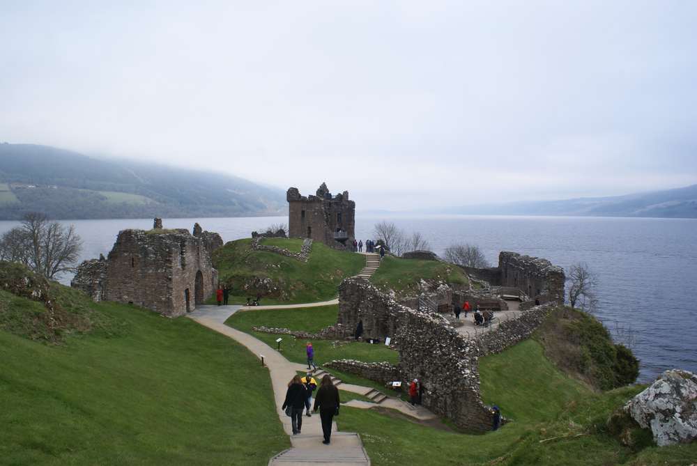 loch ness urquhart castle scotland uk united kingdom royaume uni