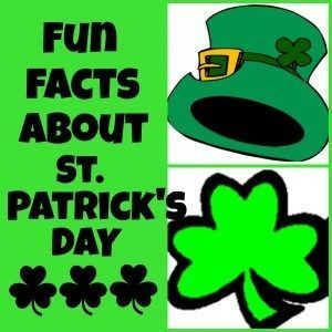 Interesting St patrick's day facts 2018