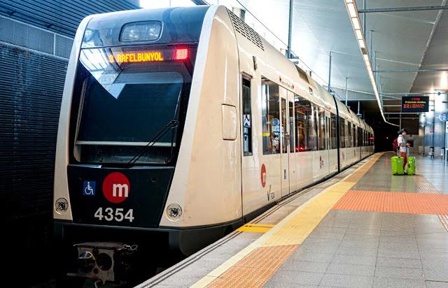 Metro de Valencia en el Aeropuerto de Manises