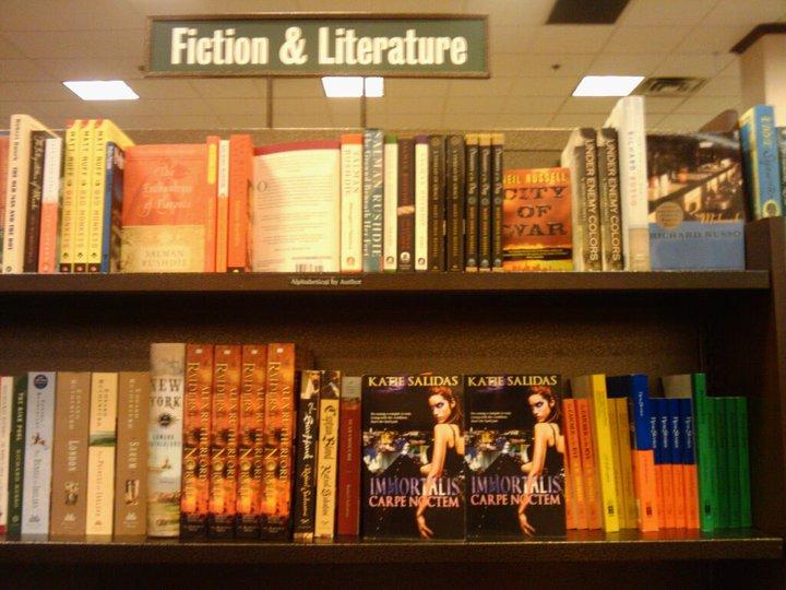 Immortalis Series by Katie Salidas at Barnes and Noble