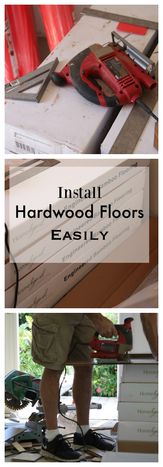 how to install hardwood flooring yourself