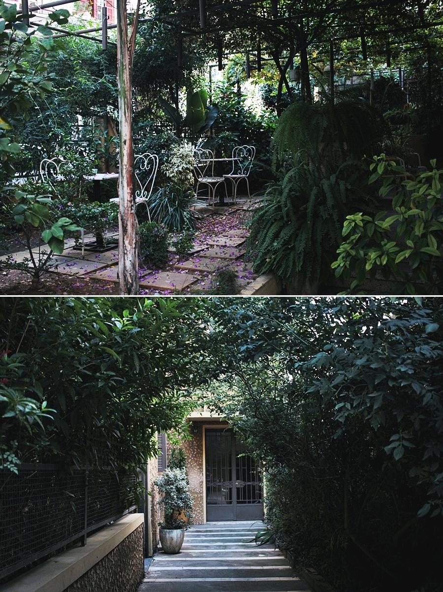 garden entrance house