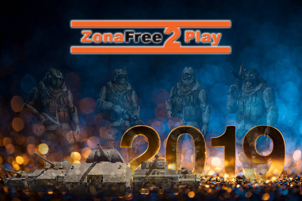 Desde Zonafree2play te deseamos un feliz 2019!