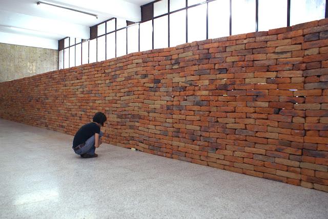 Fotografia dell'installazione El castillo, di Jorge Méndez Blake