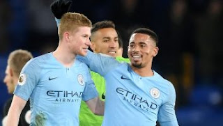 Everton vs Manchester City 0-2 Video Gol Highlights