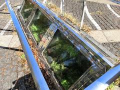 レンガ造りマンホールと下水管