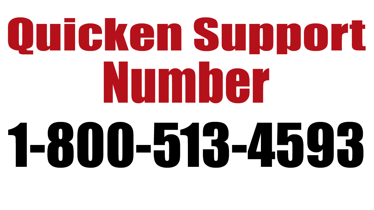 Quicken Support Number 1-800-513-4593, Technical, Toll free