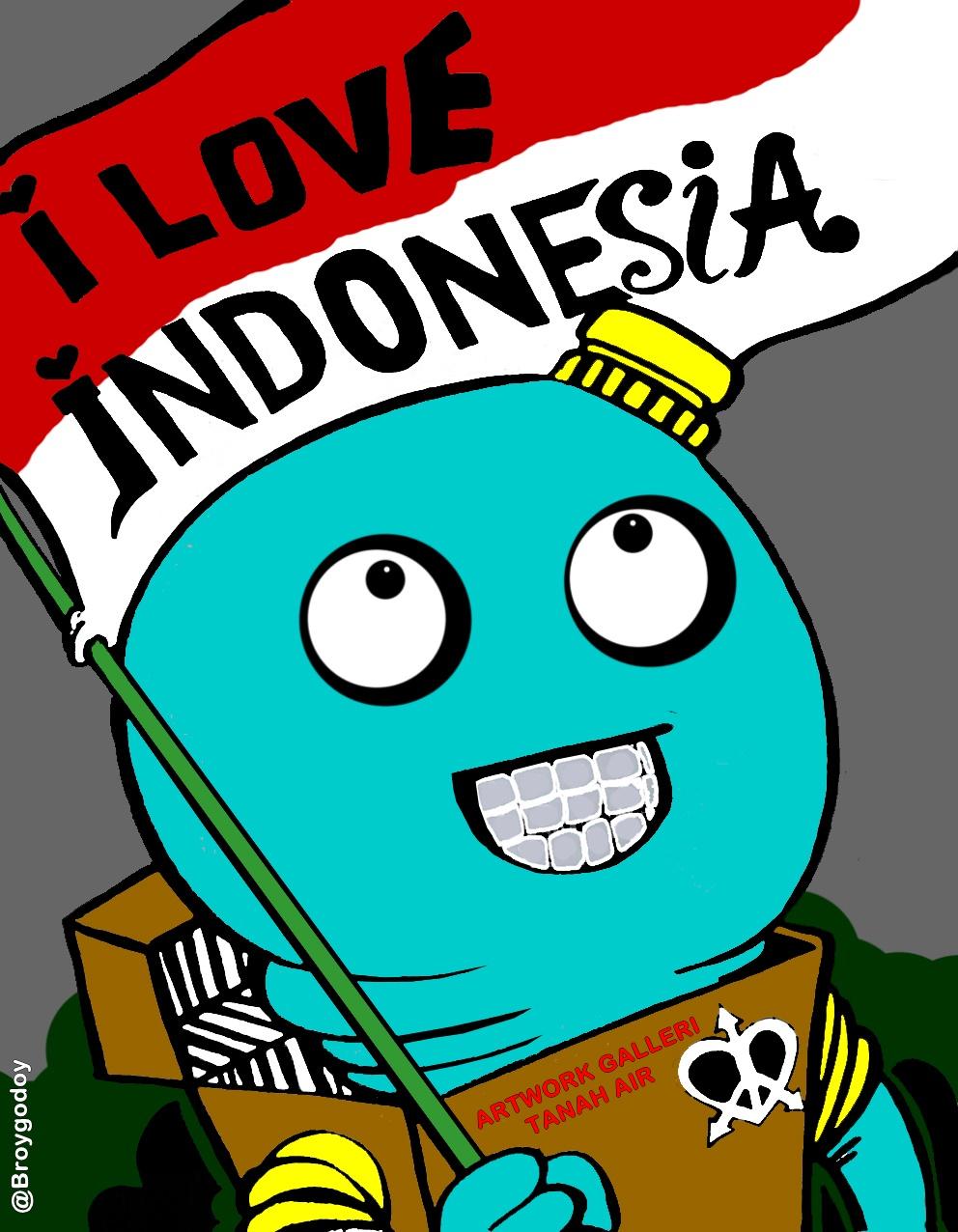 Kumpulan Gambar Karikatur Cinta Tanah Air Puzzze