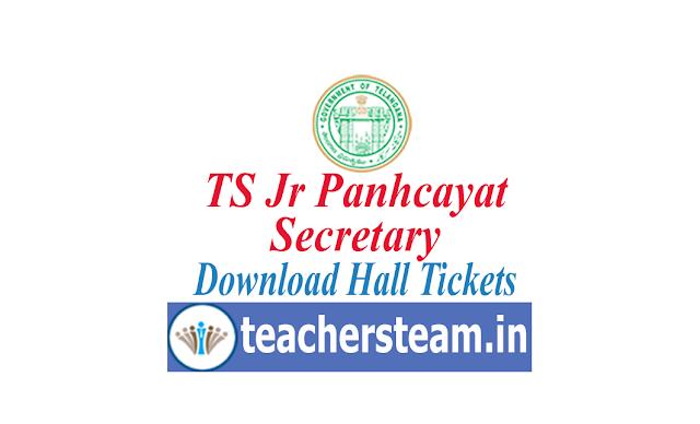 ts jr panchayat secretary hall Tickets