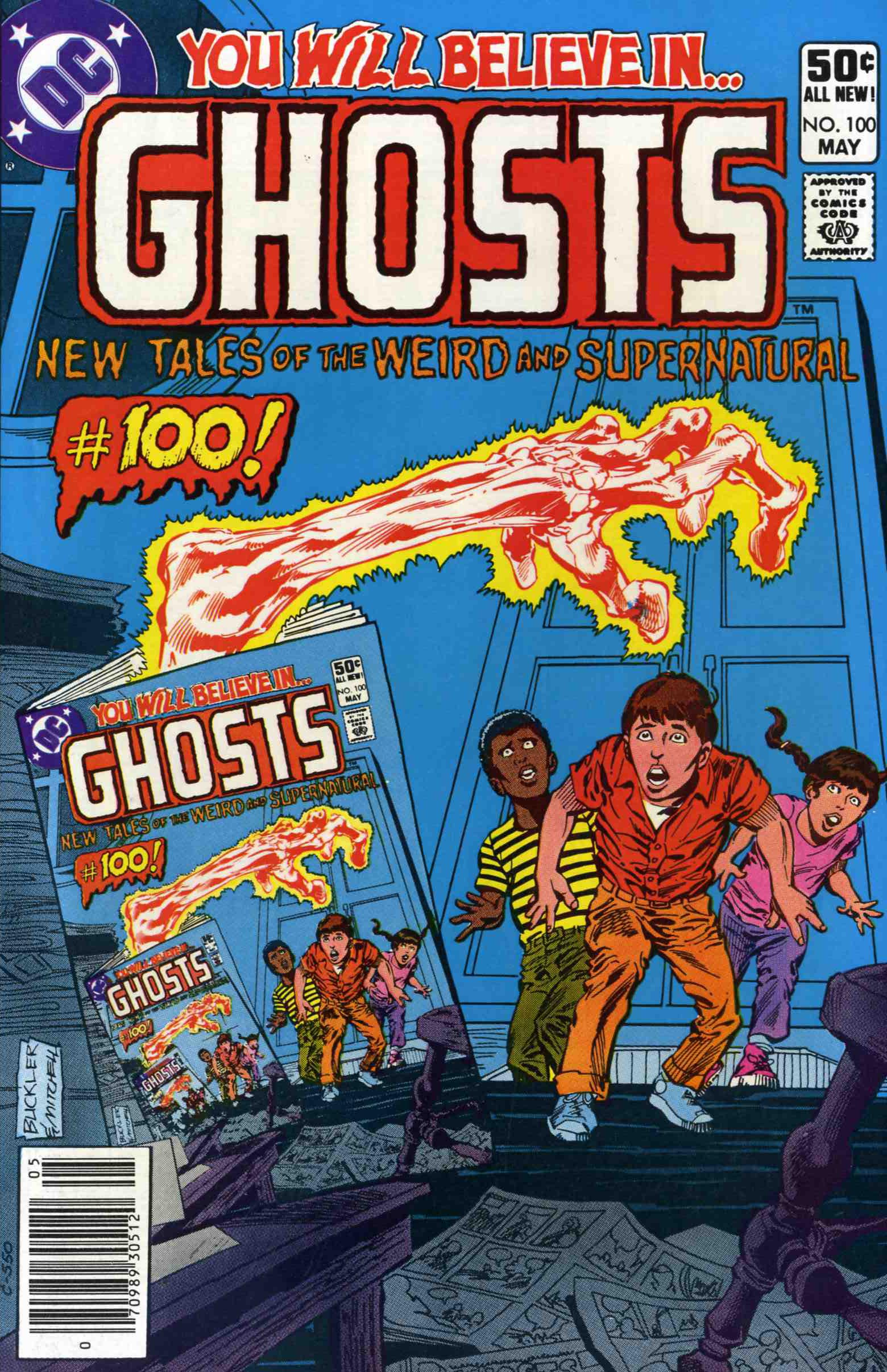 Read online Ghosts comic -  Issue #100 - 1