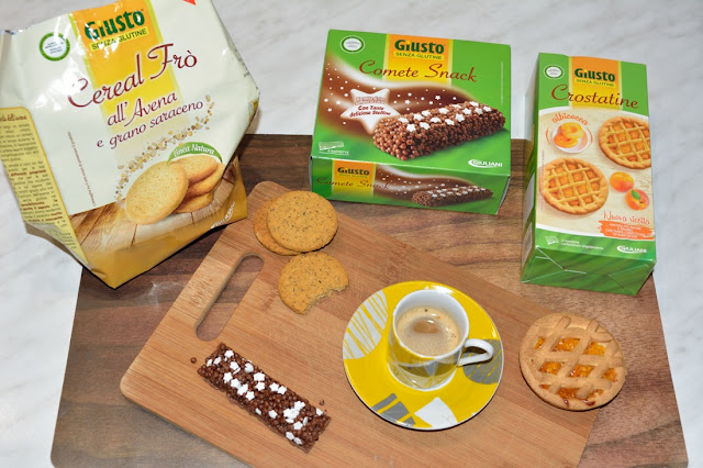 """Prodotti Senza Glutine """"Giusto"""" by Giuliani"""