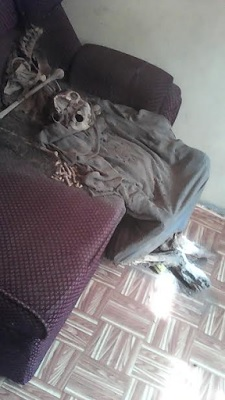 Shocking Photos: A Skeleton Found in a Pastor's House and He Confess {READ HIS STATEMENT}