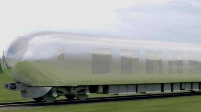 Teknologi Super Canggih Dari Jepang - Kereta Ninja