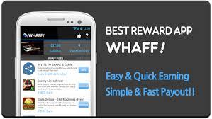 cara mendapatkan uang dari aplikasi android whaff reward