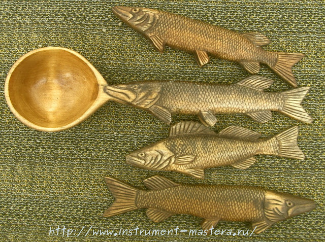 деревянные рыбы