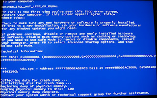 BSOD Windows Vista and 7