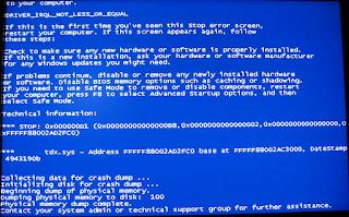 BSOD Windows Vista and 7