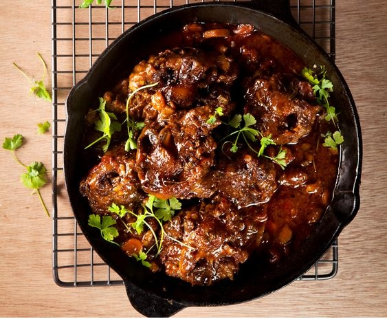 Dad's Oxtail