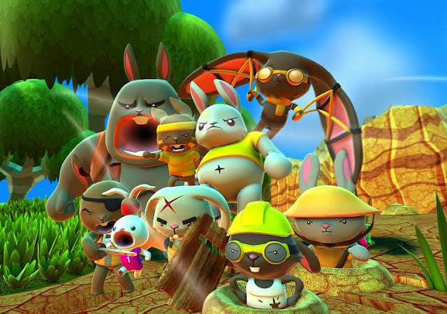 Blast 'Em Bunnies PlayStation 4 Review