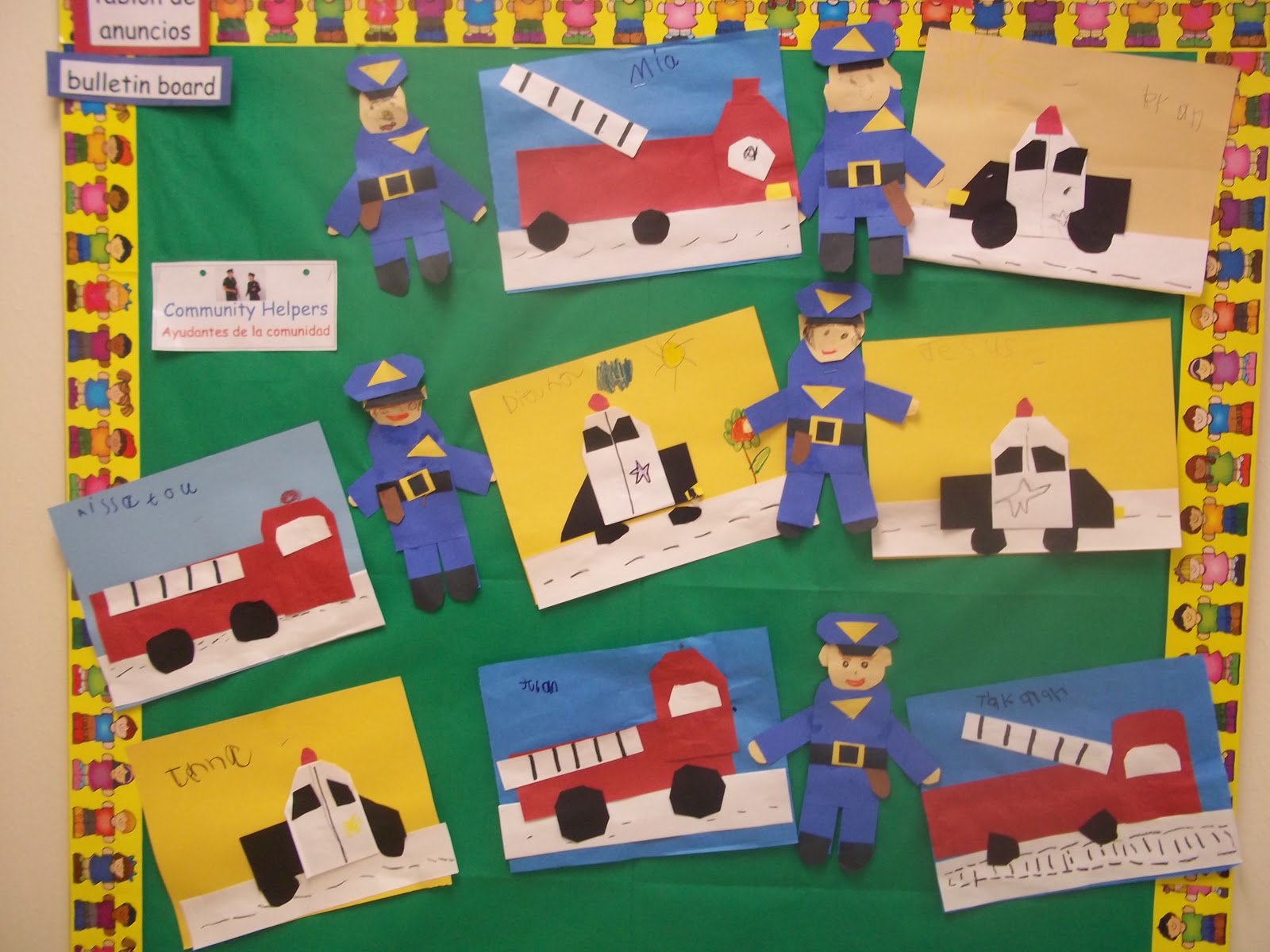 Mrs Wood S Kindergarten Class Community Helpers