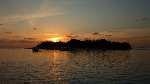 Sun Island Sonnenuntergang (Kundenfoto)