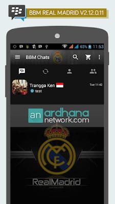 Preview BBM Real Madrid V2.12.0.11