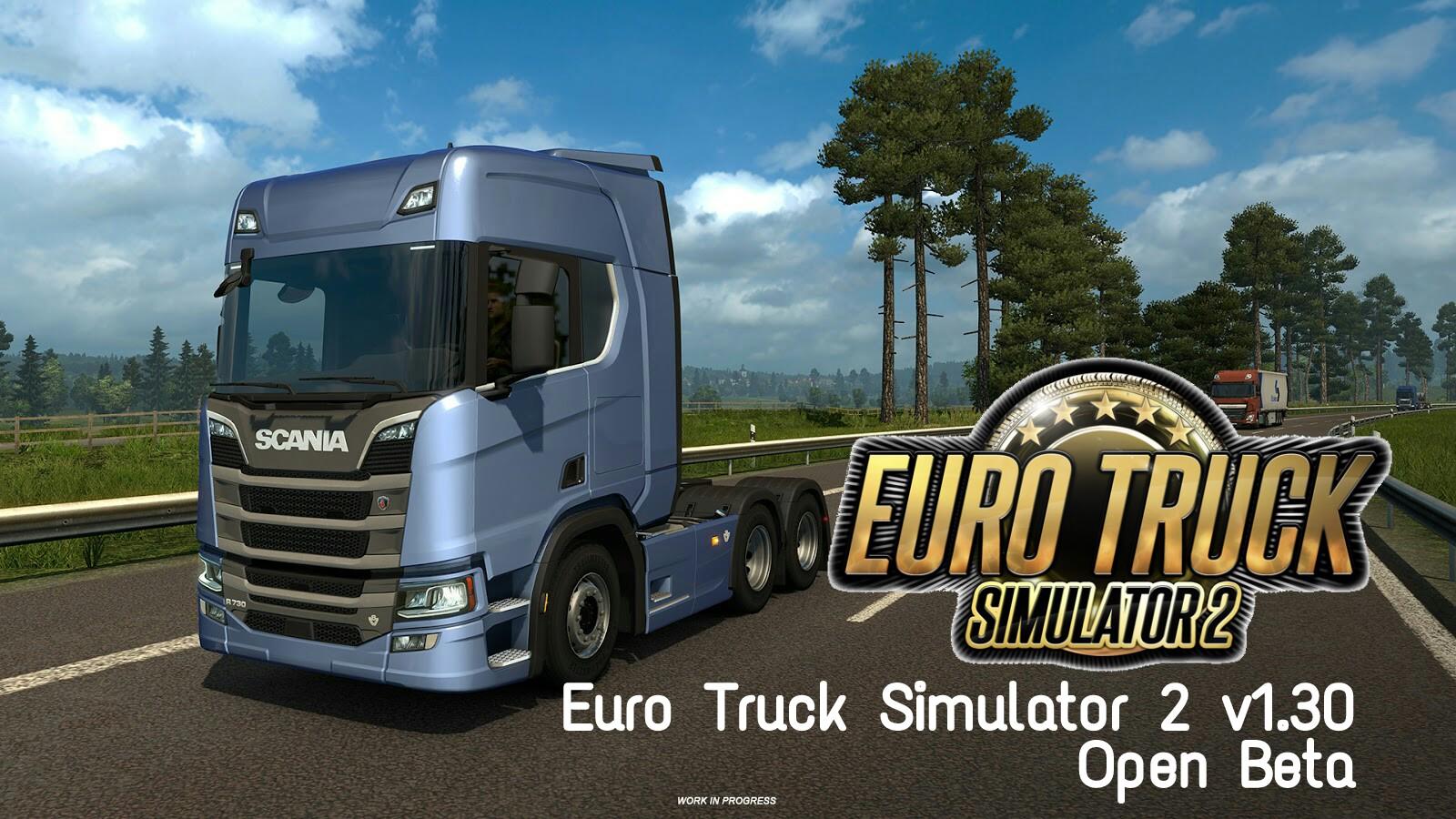 Download Euro Truck Simulator 2 V130 Open Beta Ets2 Dan Mod Indonesia