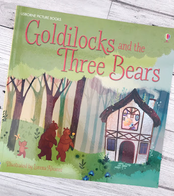 Goldilocks and the Three Bears book cover