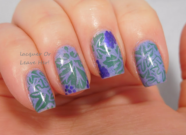 Going grape-zy with Zoya Aster & Messy Mansion Valareign 03