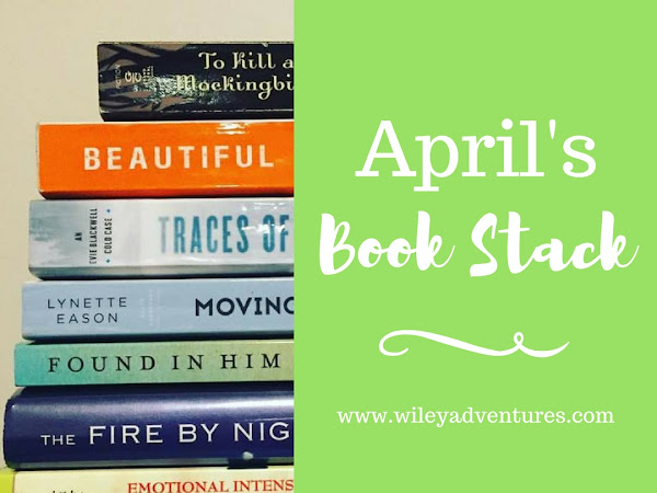 April's Book Stack