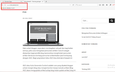 Tutorial membuat blog wordpress selfhosting gratis18