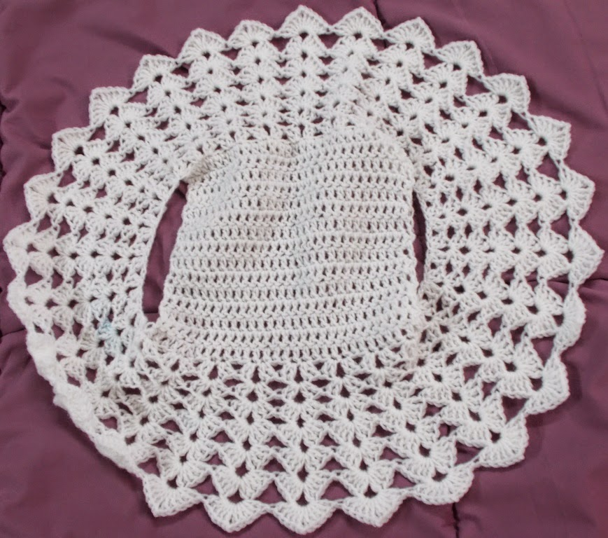 free crochet child bolero pattern