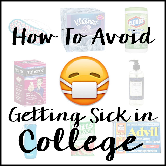 How To Avoid Getting Sick in College