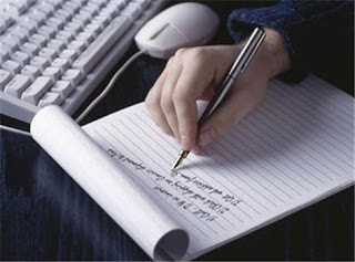 imagen escribiendo