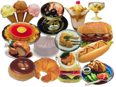 Beberapa Jenis Makanan Yang Membuat Cepat Gemuk