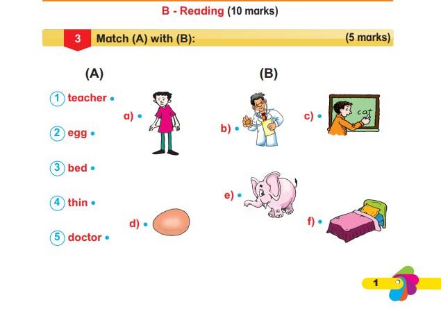 نماذج امتحانات في اللغه الانجليزيه للصف الثاني الابتدائي الترم الثاني