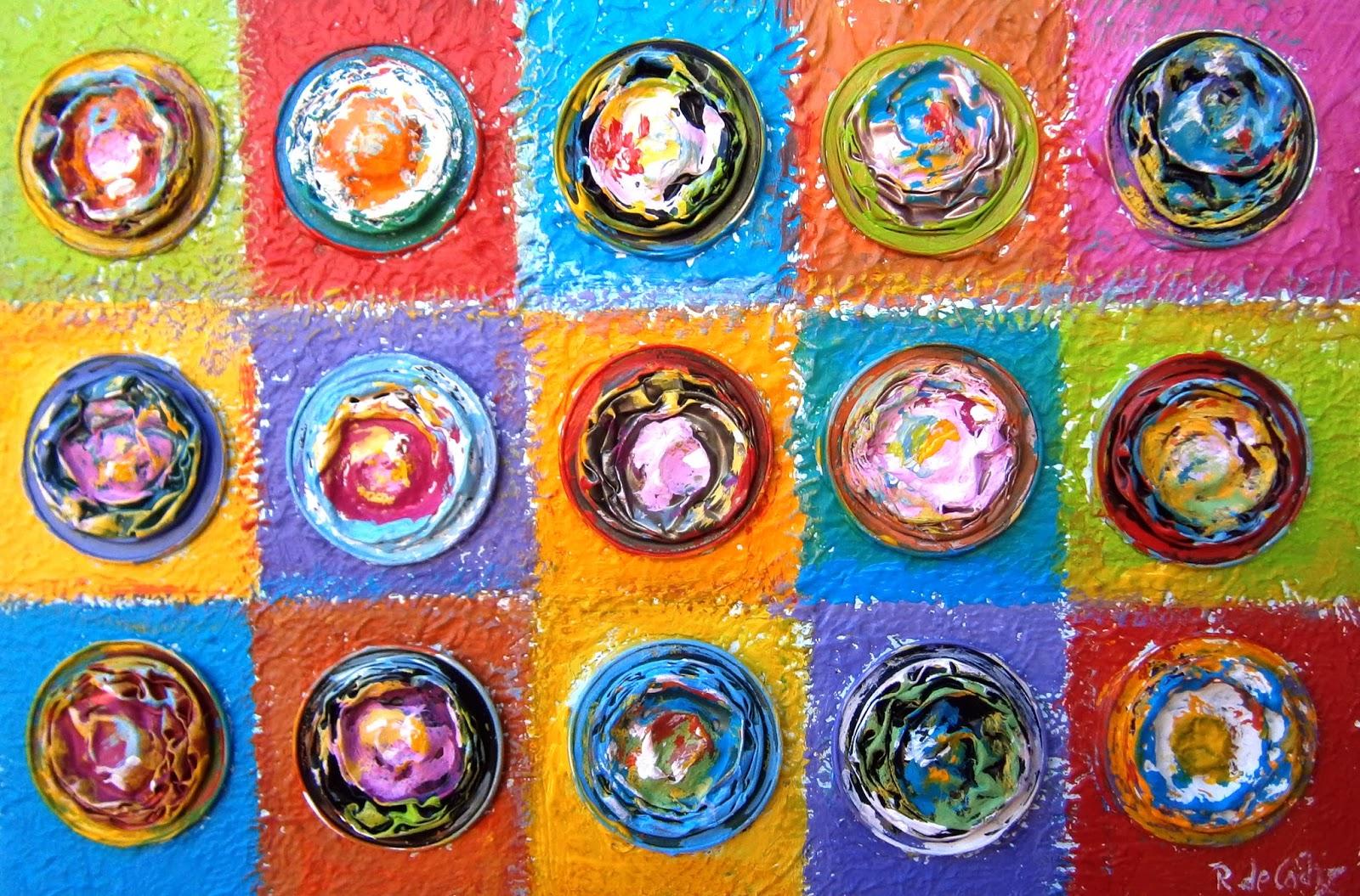 Resultado de imagen para pinturas de kandinsky