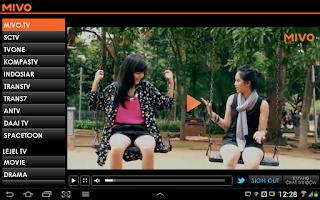 Mivo Tv aplikasi nonton tv online di android