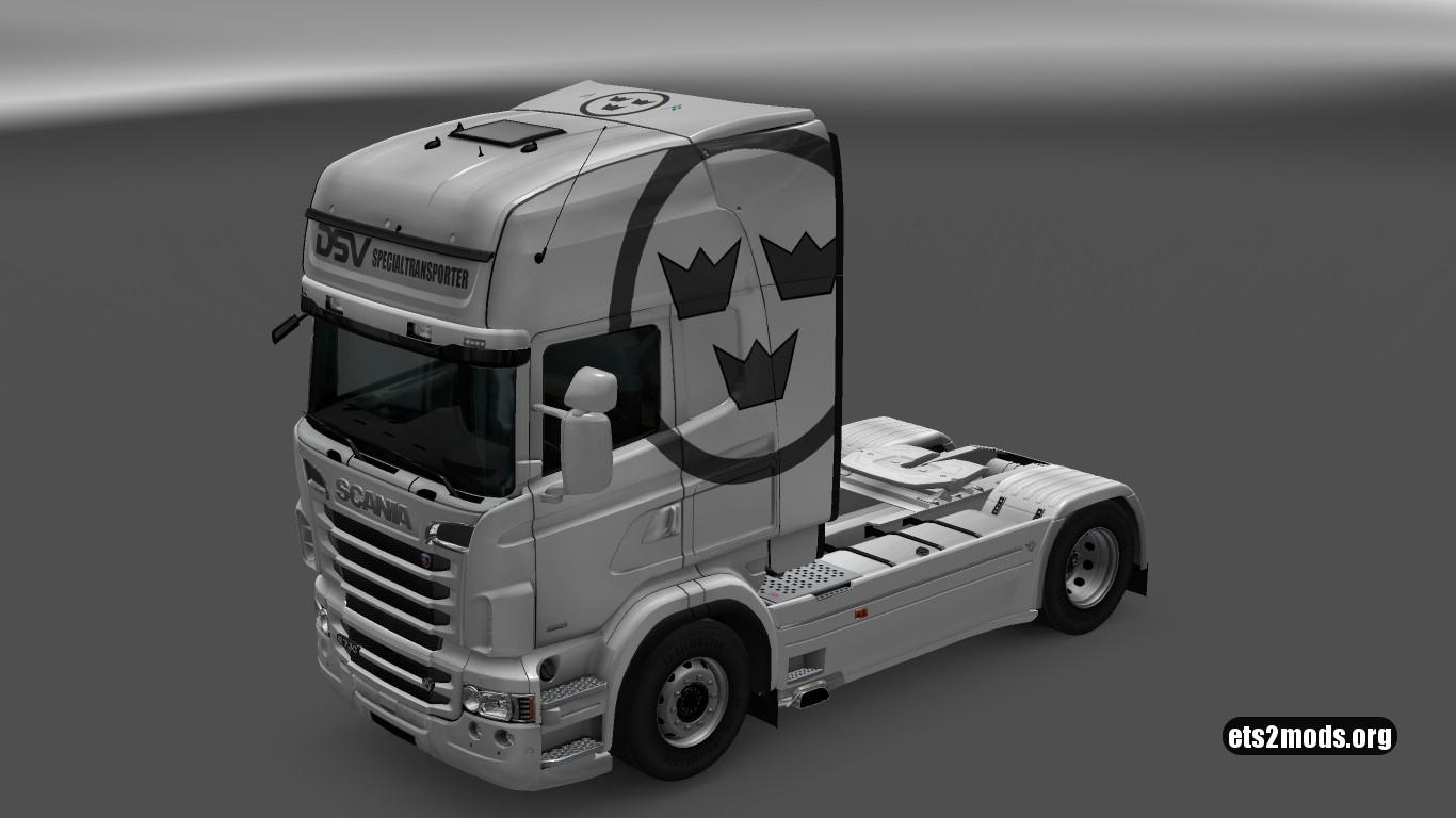 DSV Special Skin for Scania RJL
