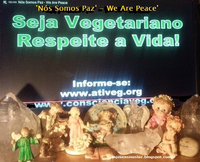 'Nós Somos Paz' - 'We Are Peace'