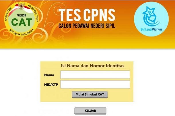 Download Soal CPNS 2018 Sistem CAT