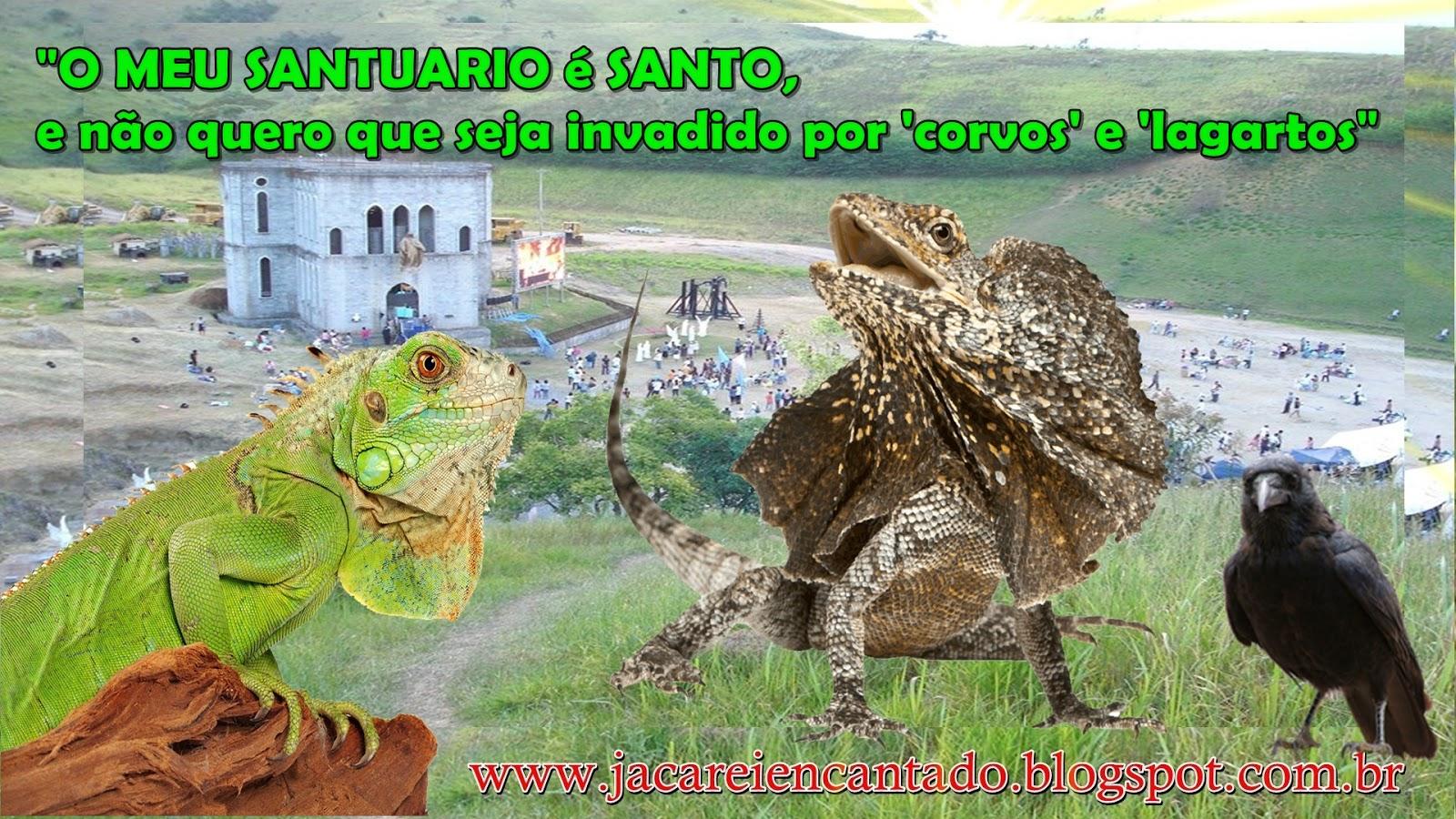 www.jacareiencantado. .. blog oficial .vidente, sinal, photoshop Santuário das Aparições de Jacareí SP. são falsas. são verdadeiras, farsa,