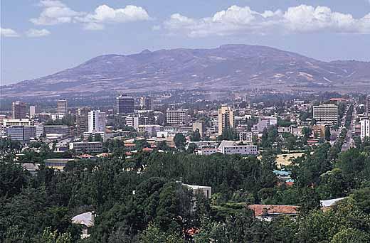 Adis-Abeba, Capital da Etiópia
