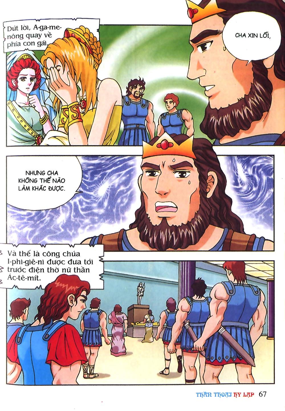 Thần Thoại Hy Lạp Màu - Chapter 53: Trước giờ xung trận - Pic 31