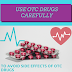 OTC Drugs and Their Side Effects