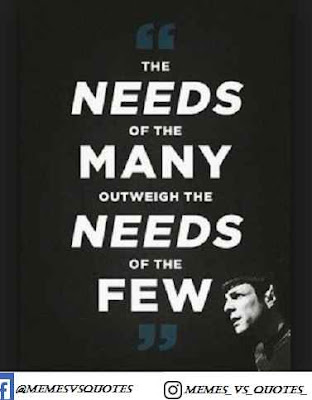 Many spock quotes